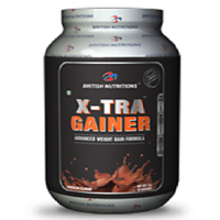 British Nutrition X-Tra Gainer Chocolate 2.5 Kg
