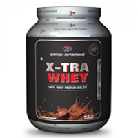 British Nutrition X-Tra Whey Chocolate 2 Kg