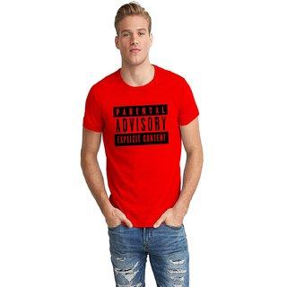 Dreambolic Parental Advisory Half Sleeve T-Shirt