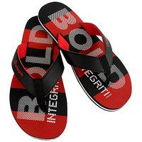 Integriti Men Black  Red Flip Flops