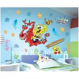 Spongbob Squarepants Boy Room Wall Sticer Decal