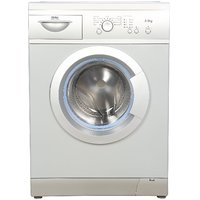 Haier Hw55-1010Me Fully-Automatic Front-Loading Washing Machine (5.5 Kg Silver)