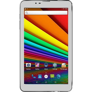 I KALL N3 In-built Speaker Tablet with Cover 8 GB 7 inch with 3G(White)