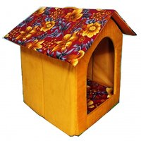 Petsho7-Stylish Home For Your Pets Triangle Hut For Dog  Cats -Medium