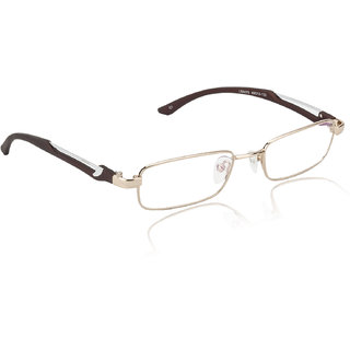 8bc006d529e Glitters Lifestyle Gold Brown Stylish Frames available at ShopClues for  Rs.499