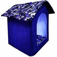 Petsho7-Stylish Home For Your Pets Triangle Hut For Dog  Cats -Medium - 97547594