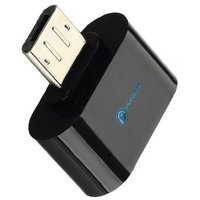 OTG Adapter Micro USB OTG to USB 2.0 Adapter for Smartphones  Tablets - Black