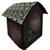 Petsho7-Stylish Home For Your Pets Triangle Hut For Dog  Cats - Small - 97554498