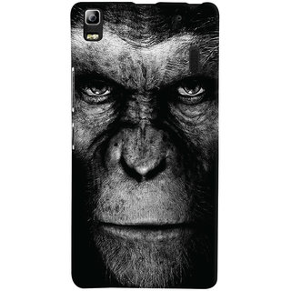 Oyehoye Lenovo K3 Note / A7000 Turbo Mobile Phone Back Cover With Gorilla - Durable Matte Finish Hard Plastic Slim Case