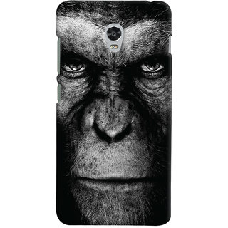 Oyehoye Lenovo Vibe P1 Turbo Mobile Phone Back Cover With Gorilla - Durable Matte Finish Hard Plastic Slim Case