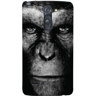 Oyehoye LG G3 Stylus / Optimus G3 Stylus Mobile Phone Back Cover With Gorilla - Durable Matte Finish Hard Plastic Slim Case