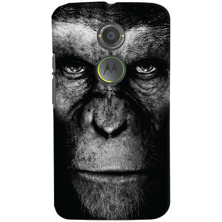 Oyehoye Motorola Moto X2 Mobile Phone Back Cover With Gorilla - Durable Matte Finish Hard Plastic Slim Case