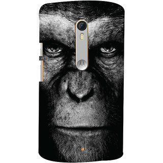 Oyehoye Motorola Moto X Style Mobile Phone Back Cover With Gorilla - Durable Matte Finish Hard Plastic Slim Case