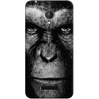 Oyehoye Micromax Canvas Spark Q380 Mobile Phone Back Cover With Gorilla - Durable Matte Finish Hard Plastic Slim Case