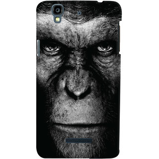 Oyehoye Micromax Yureka Plus Mobile Phone Back Cover With Gorilla - Durable Matte Finish Hard Plastic Slim Case