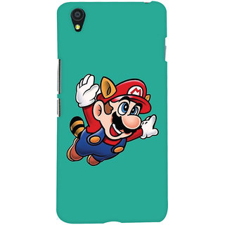 Oyehoye OnePlus X Mobile Phone Back Cover With Super Mario - Durable Matte Finish Hard Plastic Slim Case