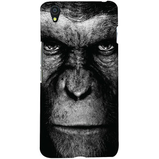 Oyehoye OnePlus X Mobile Phone Back Cover With Gorilla - Durable Matte Finish Hard Plastic Slim Case