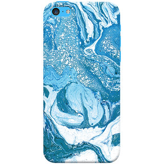 Oyehoye Apple iPhone 5S Mobile Phone Back Cover With Abstract Art - Durable Matte Finish Hard Plastic Slim Case