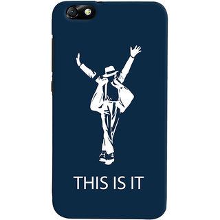 Oyehoye Huawei Honor 4X / Dual Sim / Glory Play Mobile Phone Back Cover With This is it Michael Jackson - Durable Matte Finish Hard Plastic Slim Case