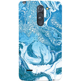 Oyehoye LG G3 Stylus / Optimus G3 Stylus Mobile Phone Back Cover With Abstract Art - Durable Matte Finish Hard Plastic Slim Case
