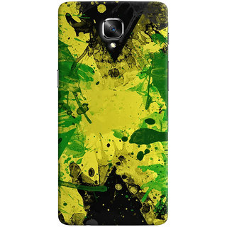 Oyehoye OnePlus 3 Mobile Phone Back Cover With Colourful Art - Durable Matte Finish Hard Plastic Slim Case
