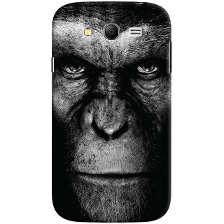 Oyehoye Samsung Galaxy Grand Duos / i9082 Mobile Phone Back Cover With Gorilla - Durable Matte Finish Hard Plastic Slim Case