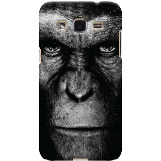Oyehoye Samsung Galaxy J2 Mobile Phone Back Cover With Gorilla - Durable Matte Finish Hard Plastic Slim Case
