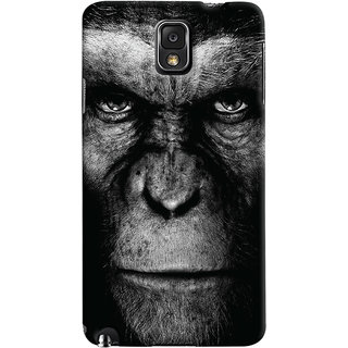 Oyehoye Samsung Galaxy Note 3 Mobile Phone Back Cover With Gorilla - Durable Matte Finish Hard Plastic Slim Case