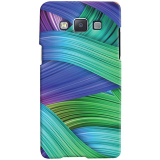 Oyehoye Samsung Galaxy A5 (2015) Mobile Phone Back Cover With Abstract Art - Durable Matte Finish Hard Plastic Slim Case