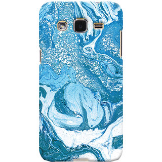 Oyehoye Samsung Galaxy J2 Mobile Phone Back Cover With Abstract Art - Durable Matte Finish Hard Plastic Slim Case
