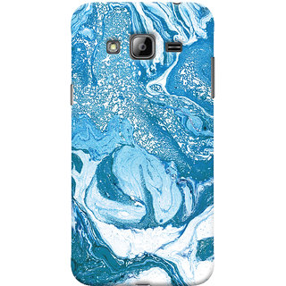 Oyehoye Samsung Galaxy J3 Mobile Phone Back Cover With Abstract Art - Durable Matte Finish Hard Plastic Slim Case