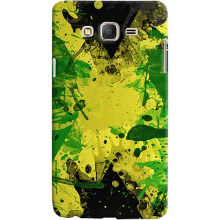 Oyehoye Samsung Galaxy ON5 Mobile Phone Back Cover With Colourful Art - Durable Matte Finish Hard Plastic Slim Case