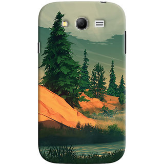 Oyehoye Samsung Galaxy Grand Neo Plus Mobile Phone Back Cover With Nature Landscape Travellers Choice - Durable Matte Finish Hard Plastic Slim Case
