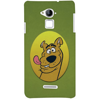 Oyehoye Coolpad Note 3 Mobile Phone Back Cover With Scooby Doo - Durable Matte Finish Hard Plastic Slim Case