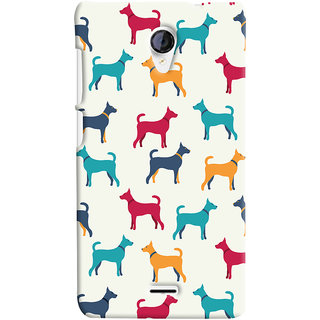 Oyehoye Micromax Unite 2 A106 Mobile Phone Back Cover With Animal Print Pattern Style - Durable Matte Finish Hard Plastic Slim Case