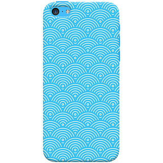Oyehoye Apple iPhone 5S Mobile Phone Back Cover With Pattern Style - Durable Matte Finish Hard Plastic Slim Case