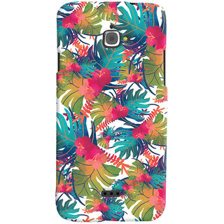 Oyehoye Infocus M350 Mobile Phone Back Cover With Colourful Abstract Art - Durable Matte Finish Hard Plastic Slim Case