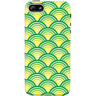 Oyehoye Apple iPhone 5 Mobile Phone Back Cover With Pattern Style - Durable Matte Finish Hard Plastic Slim Case