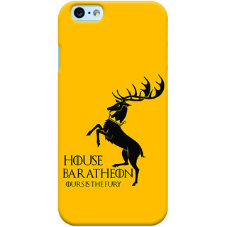 Oyehoye New Apple iPhone 6 Mobile Phone Back Cover With Game Of Thrones - Durable Matte Finish Hard Plastic Slim Case