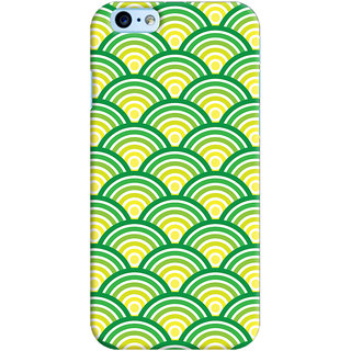 Oyehoye Apple iPhone 6S Mobile Phone Back Cover With Pattern Style - Durable Matte Finish Hard Plastic Slim Case
