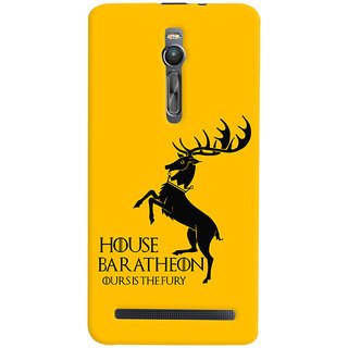 Oyehoye Asus Zenfone 2 ZE551ML Mobile Phone Back Cover With Game Of Thrones - Durable Matte Finish Hard Plastic Slim Case