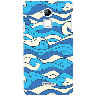 Oyehoye Coolpad Note 3 Mobile Phone Back Cover With Pattern Style - Durable Matte Finish Hard Plastic Slim Case