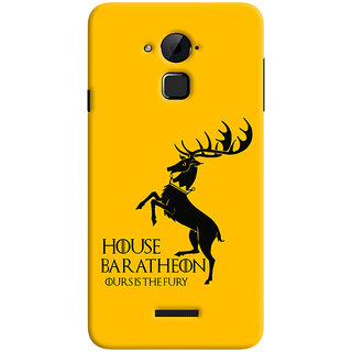 Oyehoye Coolpad Note 3 Lite Mobile Phone Back Cover With Game Of Thrones - Durable Matte Finish Hard Plastic Slim Case