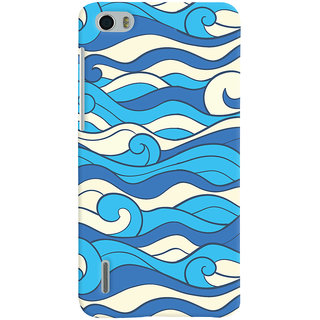 Oyehoye Huawei Honor 6 / Dual Sim Mobile Phone Back Cover With Pattern Style - Durable Matte Finish Hard Plastic Slim Case