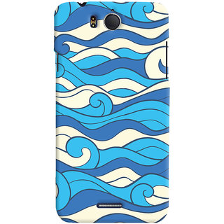 Oyehoye Infocus M530 Mobile Phone Back Cover With Pattern Style - Durable Matte Finish Hard Plastic Slim Case
