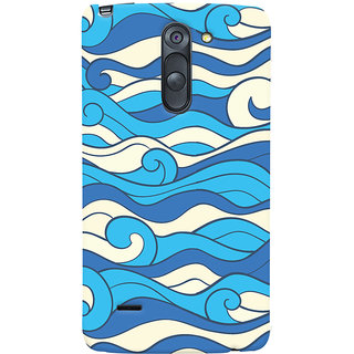 Oyehoye LG G3 Stylus / Optimus G3 Stylus Mobile Phone Back Cover With Pattern Style - Durable Matte Finish Hard Plastic Slim Case