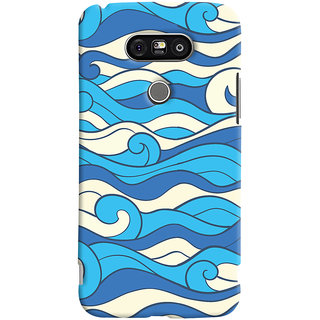 Oyehoye LG G5 / Optimus G5 Mobile Phone Back Cover With Pattern Style - Durable Matte Finish Hard Plastic Slim Case