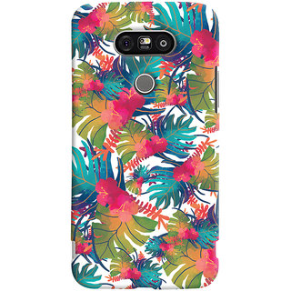 Oyehoye LG G5 / Optimus G5 Mobile Phone Back Cover With Colourful Abstract Art - Durable Matte Finish Hard Plastic Slim Case