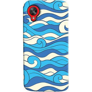 Oyehoye LG Google Nexus 5 Mobile Phone Back Cover With Pattern Style - Durable Matte Finish Hard Plastic Slim Case