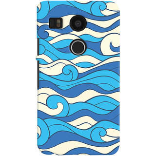 Oyehoye LG Google Nexus 5X Mobile Phone Back Cover With Pattern Style - Durable Matte Finish Hard Plastic Slim Case